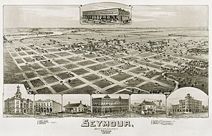 Seymour, Texas - Seymour in 1890