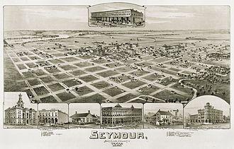 Seymour, Texas - Seymour in 1890