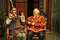 Old men during Tsechu festival.jpg