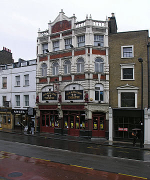 The Old Red Lion, Islington - The Old Red Lion Pub and Theatre, 2007