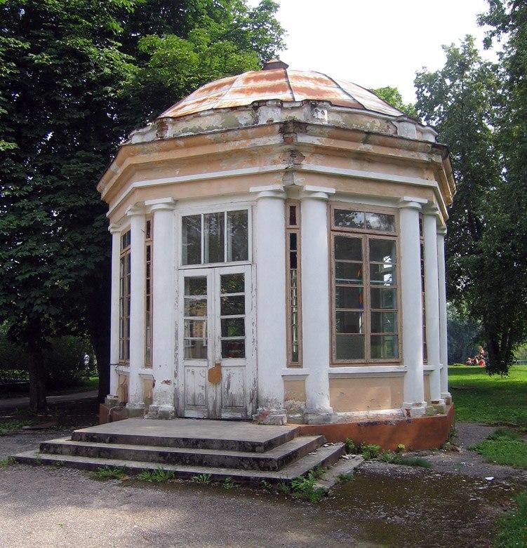 Old rotonda in Druskininkai