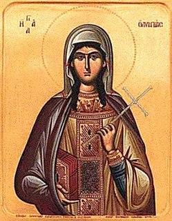 Olympias the Deaconess Greek saint