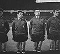 Olympische spelen te Tokio, W. Puis rechts Cornelis (koppen), Bestanddeelnr 917-0014.jpg