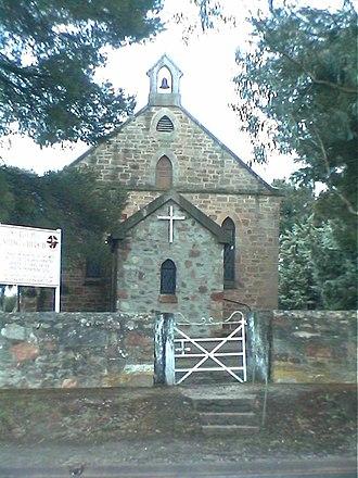 One Tree Hill, South Australia - One Tree Hill Uniting Church built 1867