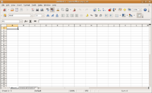 Comparison of spreadsheet software - OpenOffice Calc