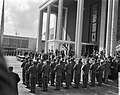 Opening wereldtentoonstelling Expo te Brussel door koning Boudewijn , openingsce, Bestanddeelnr 909-4908.jpg