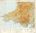 Ordnance Survey Quarter-inch sheet 12 South Wales, published 1967.jpg