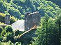 Orgnac-sur-Vézère château Comborn tour carrée (1).jpg