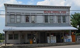 Orlinda General Store in Orlinda