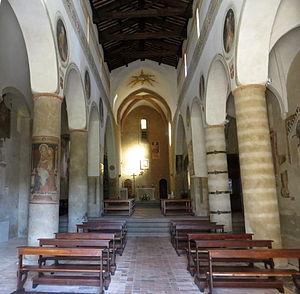 San Giovenale, Orvieto - Interior