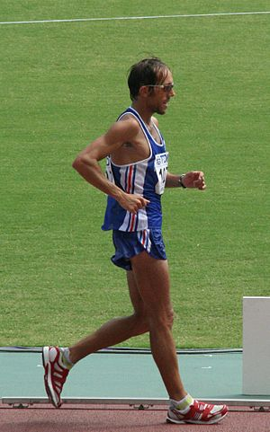50 kilometres race walk - Yohann Diniz, world record holder