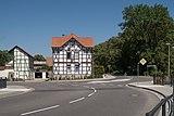 Osterwieck, straatzicht Schulzenstrasse-Goslarerstrasse IMG 5311 2018-07-07 12.40.jpg