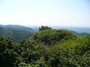 Little Carpathians Protected Landscape Area - Image: Ostry Kamen ruins