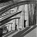 Overzicht van de luchtbogen aan de zuidzijde van het koor - 's-Hertogenbosch - 20425414 - RCE.jpg