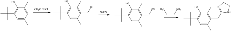 Oxymetazoline synthesis.png