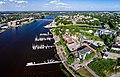 Pärnu kesklinn - Aerial photo of Pärnu in Estonia.jpg