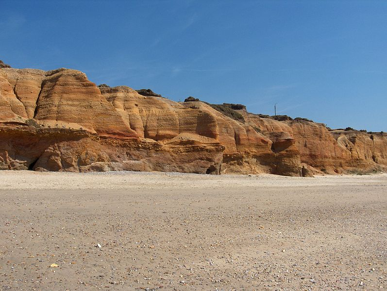 Falaises de la Mine d'Or à Pénestin, site naturel classé du Morbihan