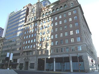 Security Building (Phoenix, Arizona) - The penthouse level was built for Walter Bimson