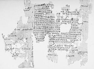 Ichneutae - Image: P.Oxy. IX 1174 col. iv v