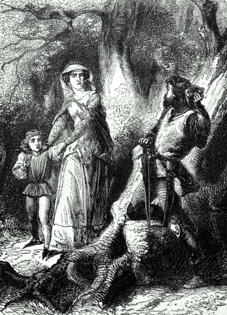 P607-Queen Margaret and the Robber of Hexham.jpg