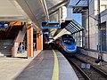 PKP Intercity train at Kraków Główny train station, Poland, 2019.jpg
