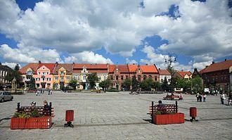 Myślenice - Market Square