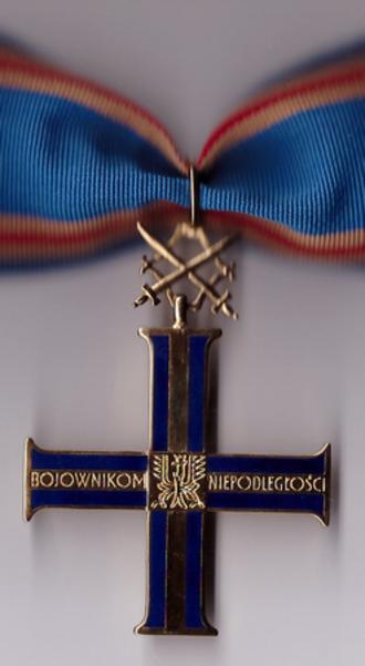 Order of the Cross of Independence - Image: POL Order Krzyza Niepodleglosci I kl