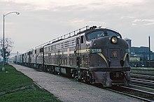 Locomotive diesel PRR EMD E8A