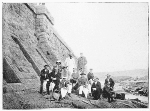 PSM V62 D557 Cecil rhodes at the aswan dam.png