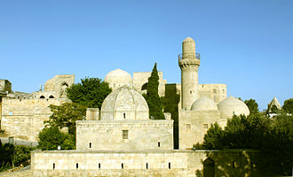 Palace of the Shirvanshahs - View of the Palace of the Shirvanshahs