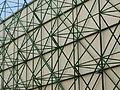 Palacio de Congresos y Exposiciones, estructura exterior, Sevilla, España, 2015.JPG