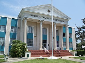 Putnam County Courthouse in Palatka