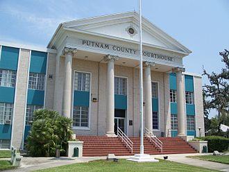 Putnam County Courthouse (Palatka, Florida) - Image: Palatka Putnam cty crths 01