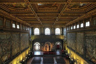 The Battle of Anghiari (painting) - Palazzo Vecchio, where it is believed the painting may be concealed