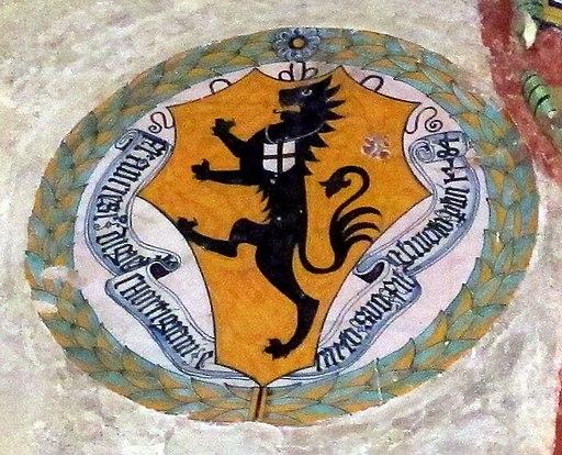 Palazzo vicariale di certaldo, stemma Cortigiani