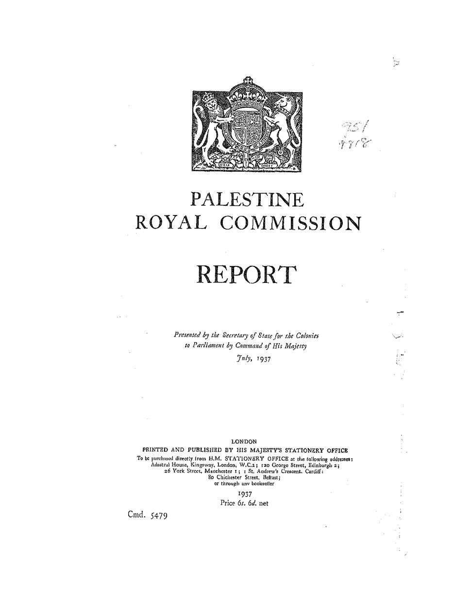 Palestine Royal Commission Cmd 5479.djvu&page=2