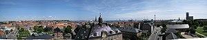 Panorama of Aarhus
