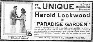 <i>Paradise Garden</i> 1917 film by Fred J. Balshofer
