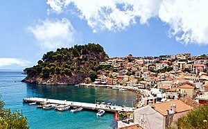 Parga - View of Parga