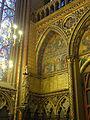 Paris (75), Sainte-Chapelle, chapelle haute, angle sud-ouest.JPG