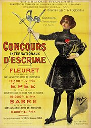 Description de l'image Paris 1900 olympic poster.jpg.