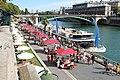 Paris Plages 2016 sur la Voie Pompidou à Paris le 14 août 2016 - 29.jpg