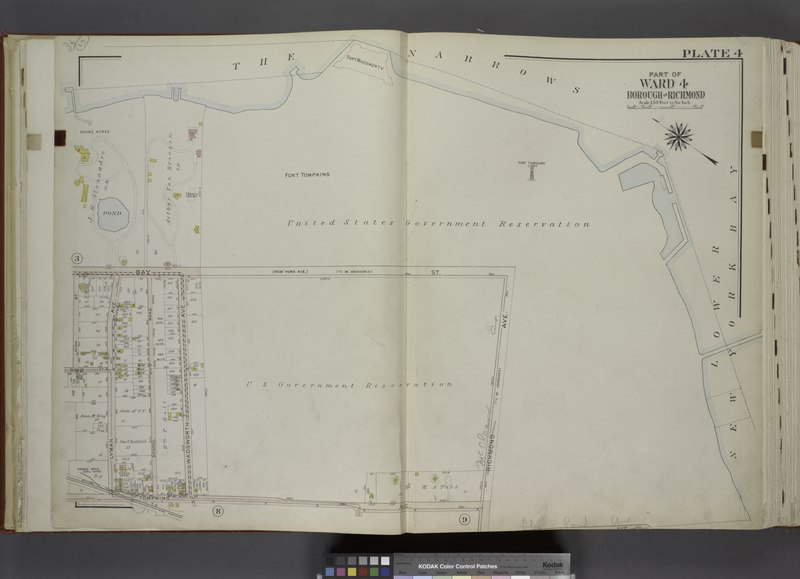 File:Part of Ward 4. (Map bound by The Narrows, Lower New York Bay, Richmond Ave, Tompkins Ave, Lyman Ave, Summer St, High St, Bay St (New York St)) NYPL1646271.tiff