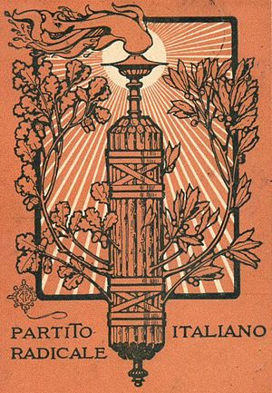 Italian Radical Party - Image: Partito Radicale Italiano