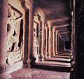 Passage around main Mandapa, Cave No. 16 (Kailasa Temple), Ellora Caves - 2.jpg