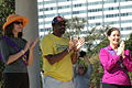 Pat Kernighan, Nate Miley, Libby Schaaf commemorating the centennial of women gaining the right to vote in California.jpg