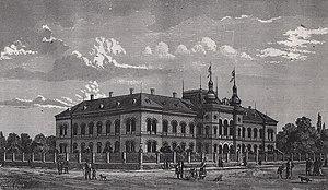 Patriarchate of Karlovci - The Patriarchate Court in Sremski Karlovci, around 1890