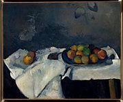 Paul Cézanne, Still Life -Plate of Peaches, Thannhauser Collection.jpg