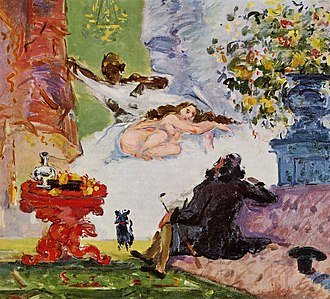 Olympia (Manet) - Paul Cézanne A Modern Olympia (c. 1873/74)