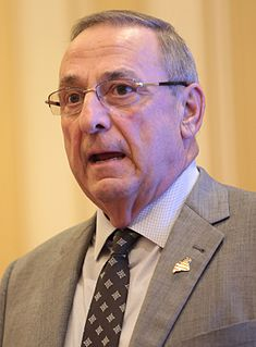 Paul LePage American businessman, Republican Party politician, and the 74th Governor of Maine